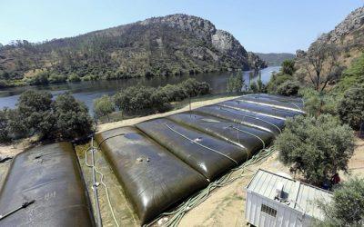 """Concluída remoção de 15 mil m3 de lamas das águas do Tejo com """"excelente qualidade"""""""