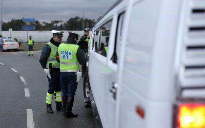 GNR fiscaliza veículos de mercadorias