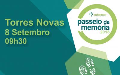 Passeio da Memória'2018 da Alzheimer Portugal inicia-se em Torres Novas