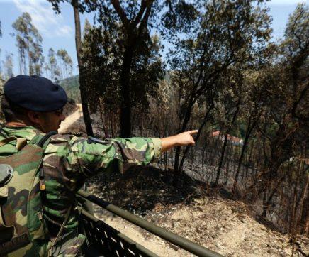 Incêndios: Abrantes com bombeiros pré-posicionados e Exército em patrulhamento
