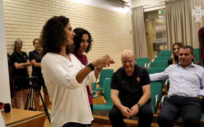 Inês Henriques inspira seleção de futsal feminino rumo ao primeiro Europeu