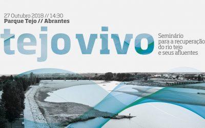 Seminário para a recuperação do Rio Tejo com a presença do Ministro do Ambiente