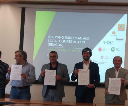 Coruche integra 'Beacon', projecto europeu no âmbito das alterações climáticas