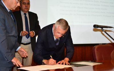 José Mira Potes toma posse como novo presidente do Instituto Politécnico de Santarém