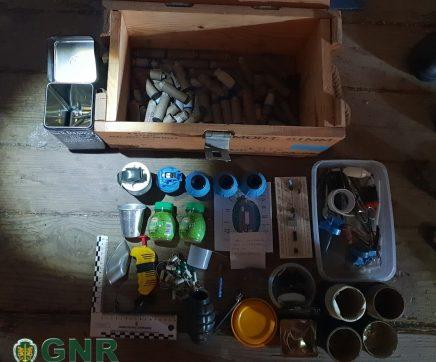 Detido por tráfico de droga e posse de material de guerra em Alcanhões