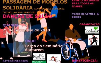 Passagem de modelos inclusiva e danças de salão no Largo do Seminário