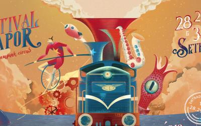"Museu Nacional Ferroviário recebe Festival do Vapor ""A Steampunk Circus"""