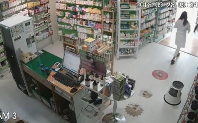 Furto em loja no centro histórico de Santarém com funcionários no interior