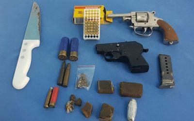 Detidos dois homens por tráfico de droga e posse ilegal de arma em Coruche