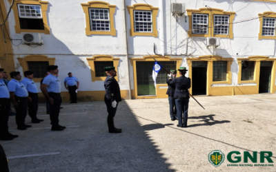 Nova comandante do Destacamento Territorial de Coruche da GNR tomou posse