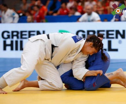 Patrícia Sampaio conquista título de Campeã Europeia de Juniores de Judo