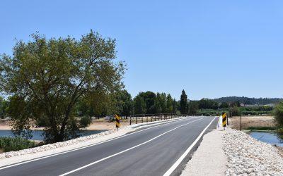 Inauguração da Ponte Joaquim Casanova do Bêco no Couço com presença de Secretário de Estado