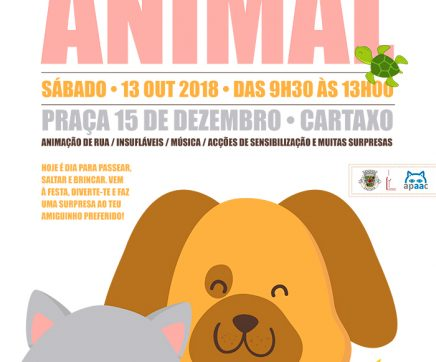 Cartaxo celebra Dia Mundial do Animal