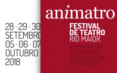 'Animatro': Festival de teatro de Rio Maior em Setembro e Outubro