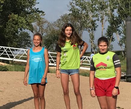 Clube de Canoagem Scalabitano no Campeonato de Esperanças e Primeiras Pagaiadas em Coruche