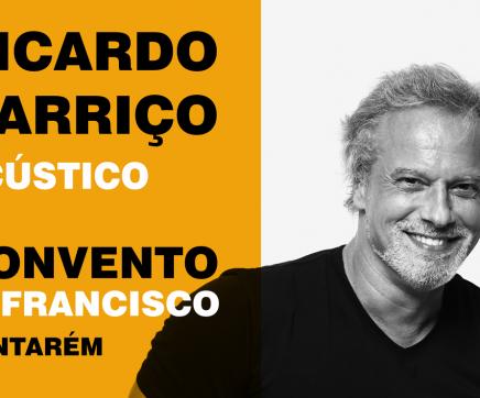 Ricardo Carriço em concerto acústico nos 20 anos da FARPA