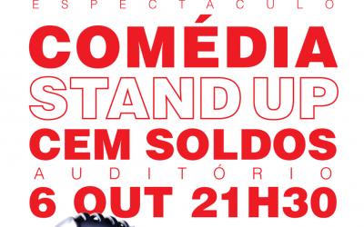 Stand Up Comedy em Cem Soldos com Joel Ricardo Santos e Daniel Carapeto