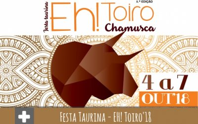 'Eh Toiro': Festa taurina de quinta-feira a domingo na Chamusca
