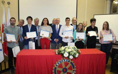 Rotary Club de Santarém distingue alunos com entrega dos 'Prémios Escolares 2017/2018'