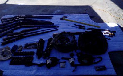 PSP apreende 14 armas e detém cinco pessoas no Entroncamento