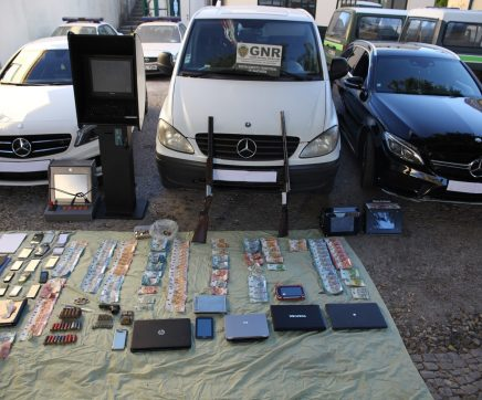 Sete detidos por tráfico de droga em Santarém, Cartaxo, Almeirim, Azambuja e Vila Franca