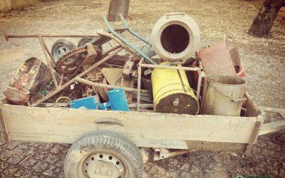 Detido em flagrante por furto de metais não preciosos na Golegã