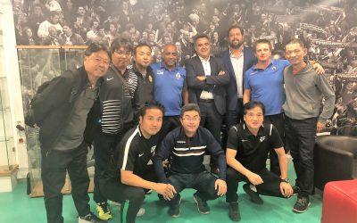 Federação Japonesa de Futebol na Académica de Santarém