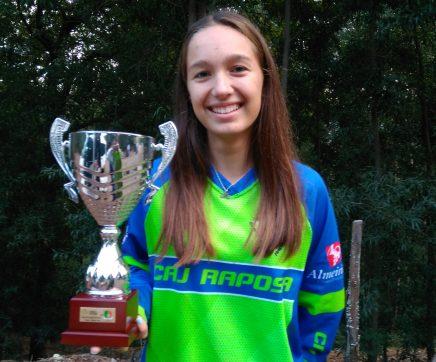Marta Simões do CAJ Raposa vence Taça de cadetes femininas