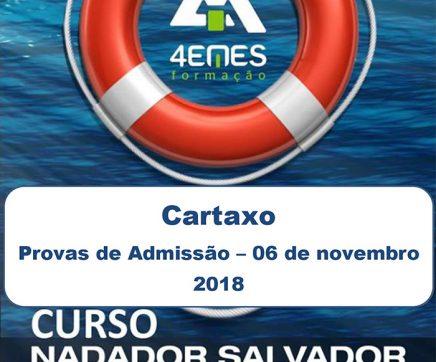 Cartaxo recebe Curso de Nadador Salvador