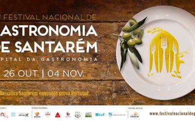 Festival Nacional de Gastronomia de 26 de Outubro a 04 de Novembro em Santarém