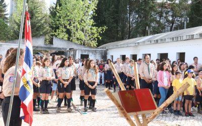 Escuteiros colocam primeira pedra na nova sede em Santarém