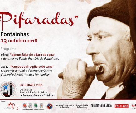 """""""Pifaradas"""" é o mote para se falar do pífaro de cana nas Fontainhas a 13 de Outubro"""