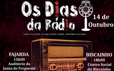 """""""Os Dias da Rádio"""" leva o teatro às freguesias do concelho de Coruche"""