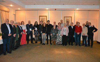 Círculo Cultural Scalabitano distingue mérito cultural em jantar de aniversário