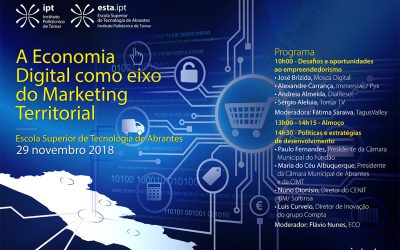A Economia Digital como Eixo do Marketing Territorial em Debate na ESTA
