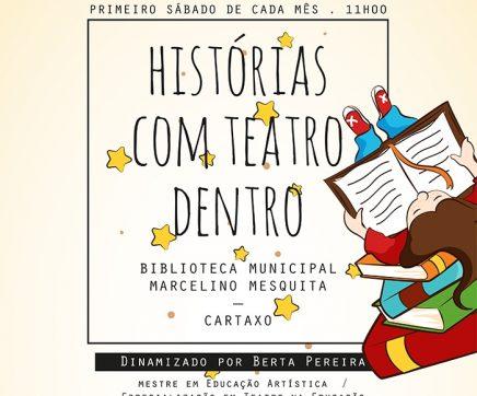 """Cartaxo organiza atelier """"Histórias com Teatro Dentro"""""""