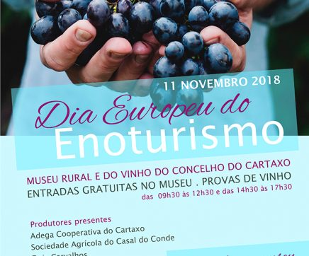 Cartaxo celebra Dia Europeu do Enoturismo