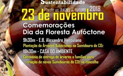 Câmara de Santarém comemora Dia da Floresta Autóctone com plantação de Árvores
