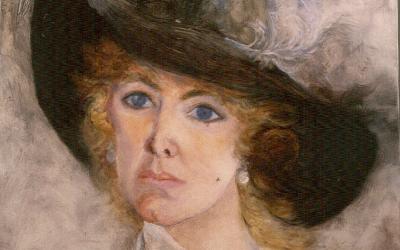 """""""O Auto-Retrato na obra de Mimi Fogt"""" na Casa-Museu Passos Canavarro"""