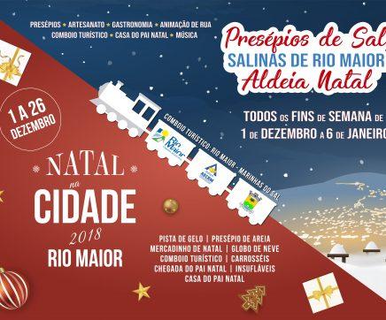 Rio Maior celebra o Natal com programa repleto de diversão