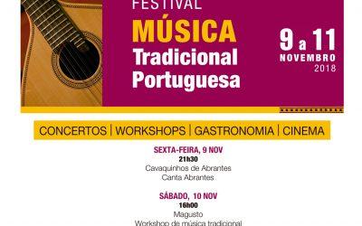 Centro Cultural Gil Vicente recebe Festival de Música Tradicional Portuguesa