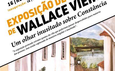Constância recebe exposição de Wallace Vieira