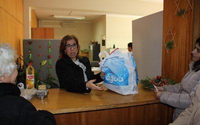 Entroncamento entregou Cabazes de Natal a Famílias carenciadas do concelho