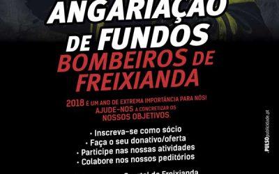 Bombeiros de Freixianda com calendário solidário para angariar verbas