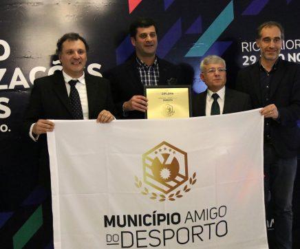 """Chamusca distinguida como """"Município Amigo do Desporto"""""""