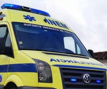 Dois feridos graves em acidente na A1 com pesado de transporte de gasolina