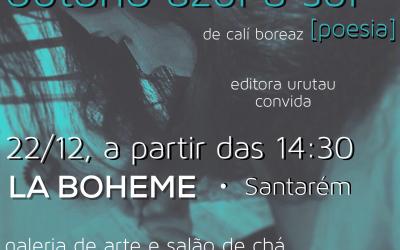"""Poeta escalabitana apresenta sábado """"Outono azul a sul"""""""