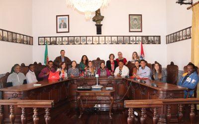 Alunos do Curso Master Erasmus Mundus em Enfermagem de Emergência e Cuidados Críticos visitam Paços do Concelho