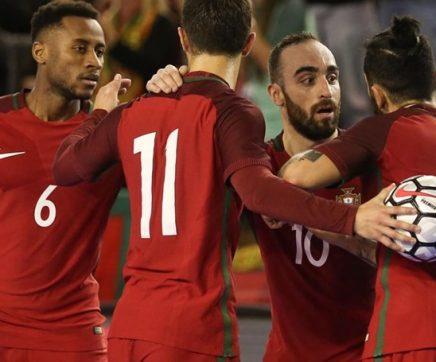 Seleção portuguesa de futsal empata com Ucrânia em jogo de preparação em Rio Maior