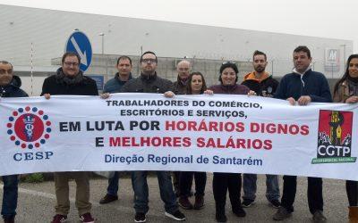 Sindicato regista adesão de 60% na greve na base logística do Minipreço da Zibreira